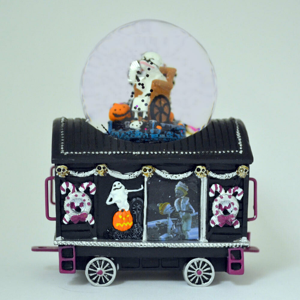 Snow Dome Nightmare Before Christmas Issue 3 Oogie Boogie Train Water Globe