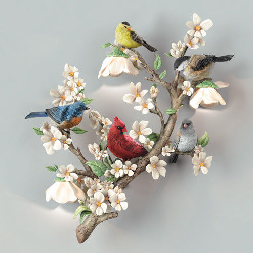 Garden Delights Bird Sculpture Blue Jay