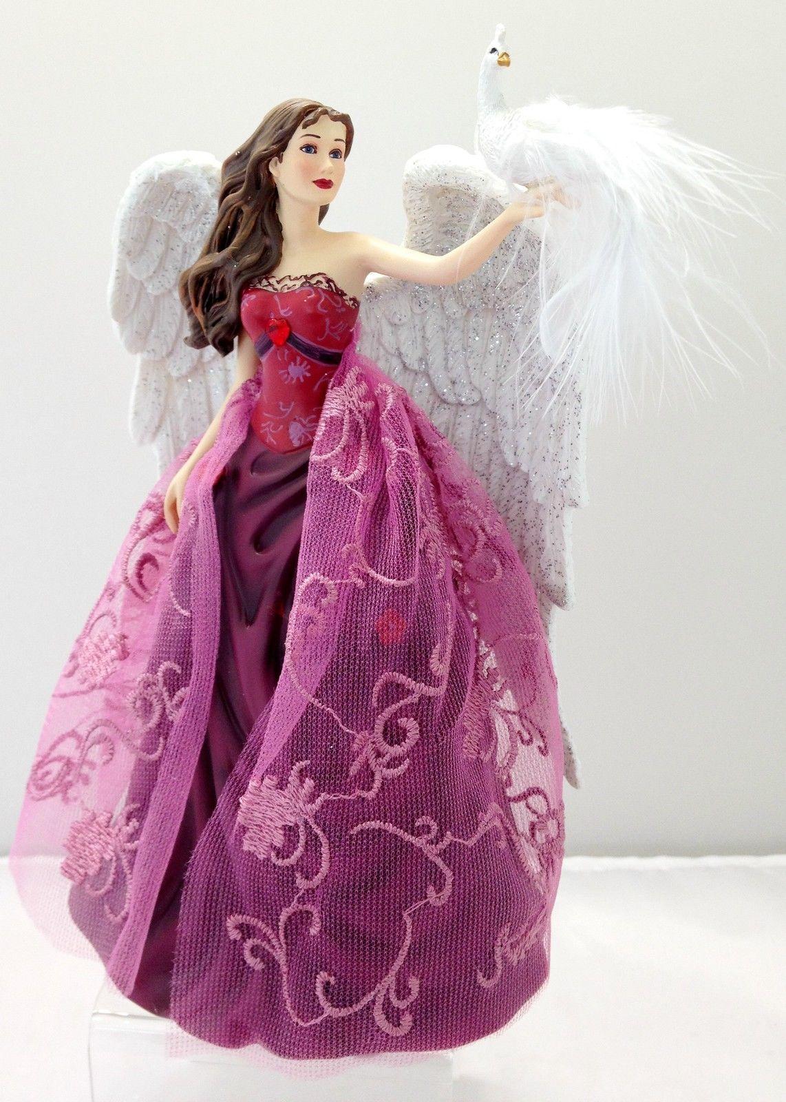 Wings Of Love Nene Thomas Angels Of Virtue Figurine Bradford Exchange Enchanted Treasures Gifts