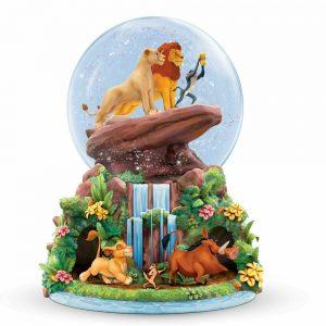 Disney Mickey Mouse Rotating Through the years Glitter Snow Globe Bradford NEW