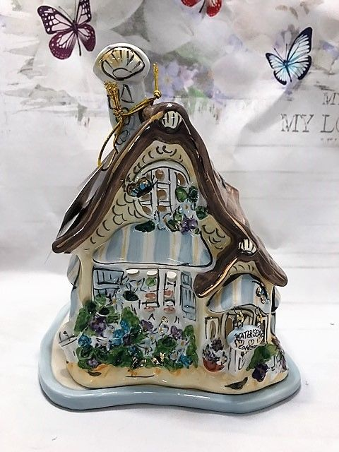 House Ceramic Tealight Holder Candle Holder Home Decor Enchanted Treasures Gifts