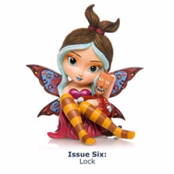 Lock Fairy Nightmare Before Christmas Figurine Jasmine Becket