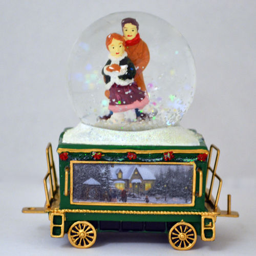 Wonderland Express Snow Dome Water Globe Train 14 Only